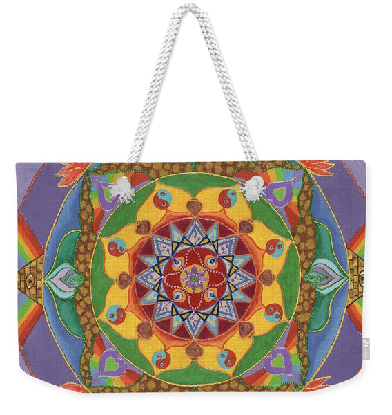 Self Actualization The Individual Need To Evolve - Weekender Tote Bag
