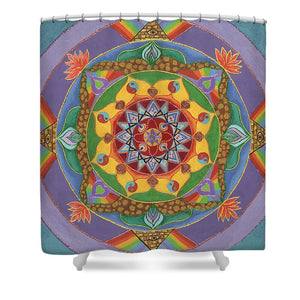 Self Actualization The Individual Need To Evolve - Shower Curtain
