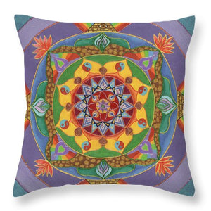 Self Actualization The Individual Need To Evolve - Throw Pillow