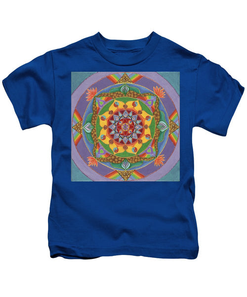 Self Actualization The Individual Need To Evolve - Kids T-Shirt