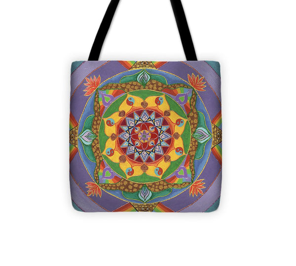 Self Actualization The Individual Need To Evolve - Tote Bag