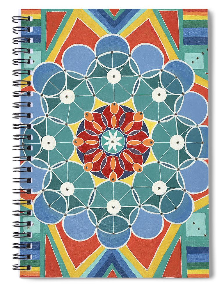 The Circle of Life Relationships - Spiral Notebook