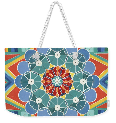 The Circle Of Life Relationships - Weekender Tote Bag