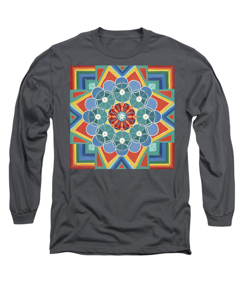 The Circle Of Life Relationships - Long Sleeve T-Shirt