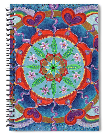 The Seed Is Planted Creation - Spiral Notebook
