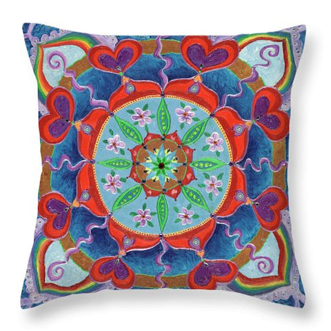 The Seed Is Planted Creation - Throw Pillow