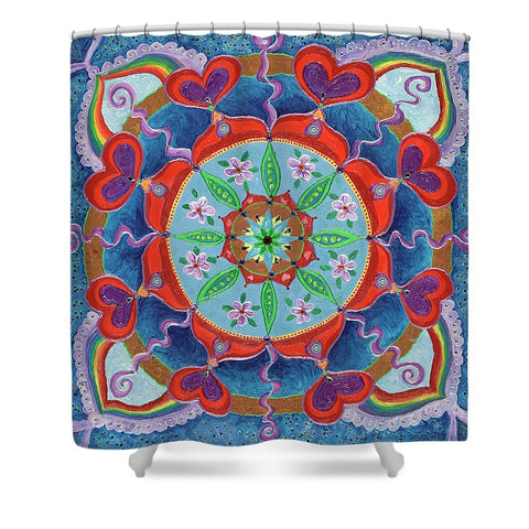 The Seed Is Planted Creation - Shower Curtain