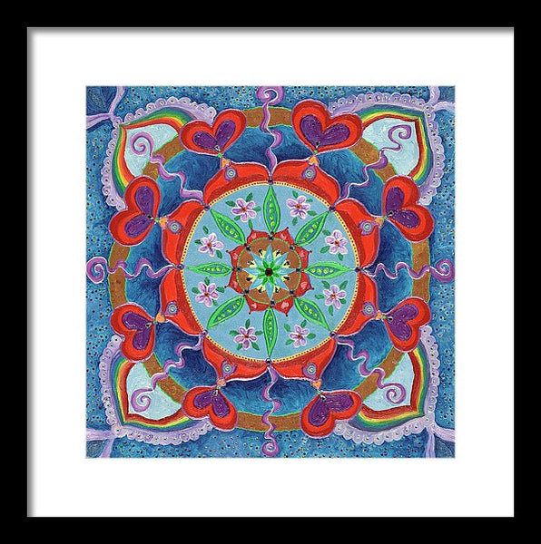 The Seed Is Planted Creation - Framed Print