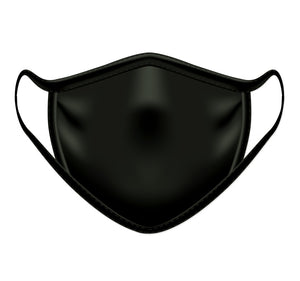 Black Personal Protection Face Mask - 3 Pack
