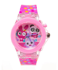 Reloj con Luz de Fluffy Friends
