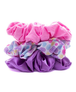 Pack 3 scrunchies caramelo