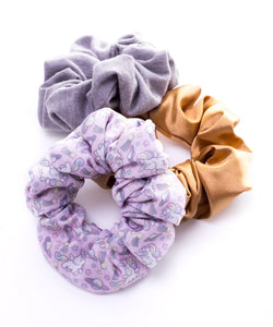 Pack 3 scrunchies believe in magic
