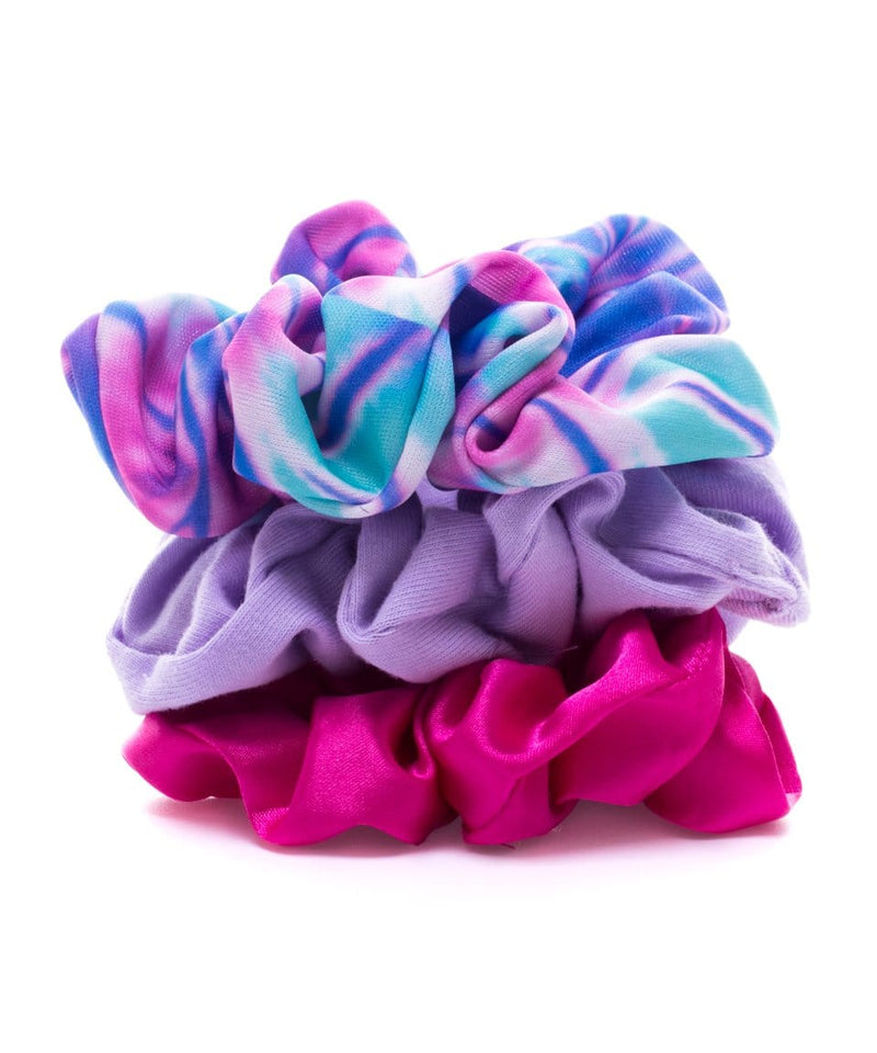 Pack 3 scrunchies caracol