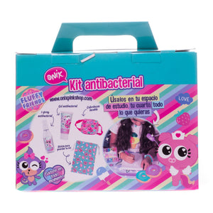 Kit antibacterial fluffy friends