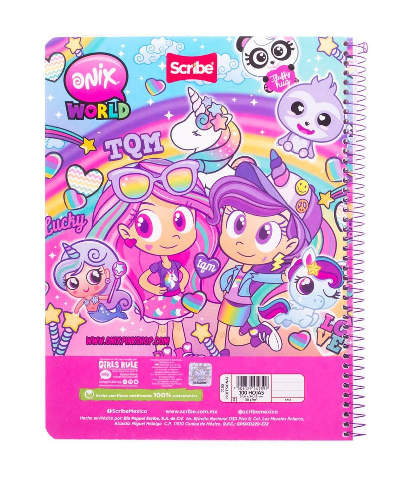 Cuaderno Profesional Onix + Scribe