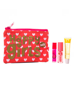 Kit Cosmetiquera + 3 Lip Gloss