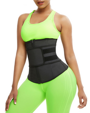 Abdominal waistband with high pressure latex