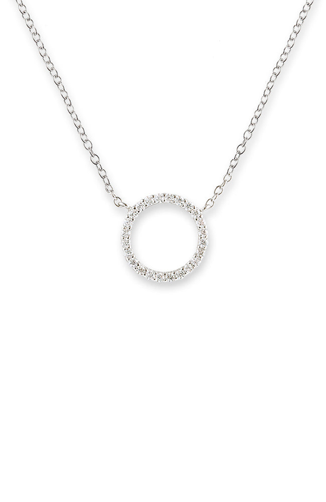 Circle of Life Necklace - Silver