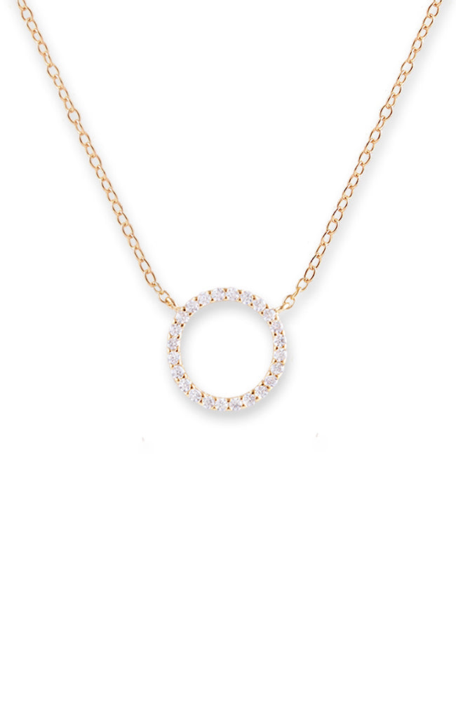 Circle of Life Necklace - Gold