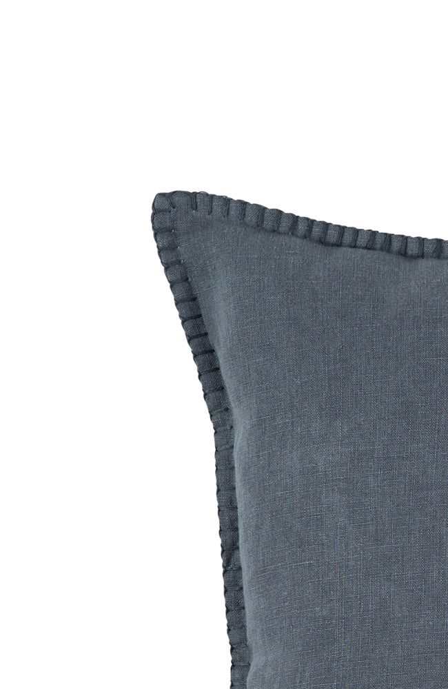 St Claire Linen Scatter Cushion - Charcoal