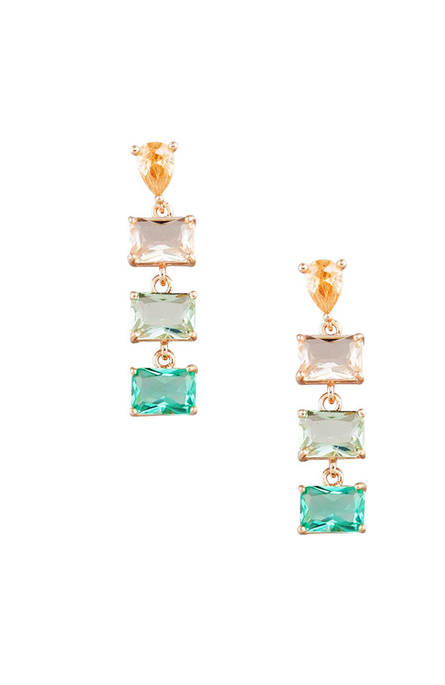Day Crystal Drop Earring