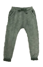 Frankie Denim Jogger - Military