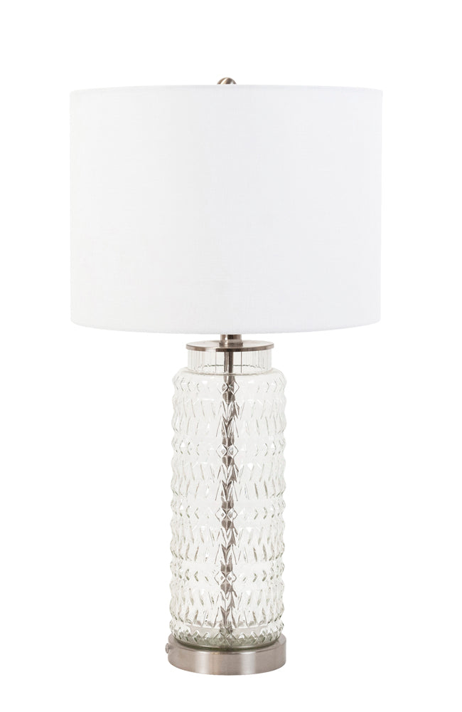 Bloomingdale Lamp - Ribbed