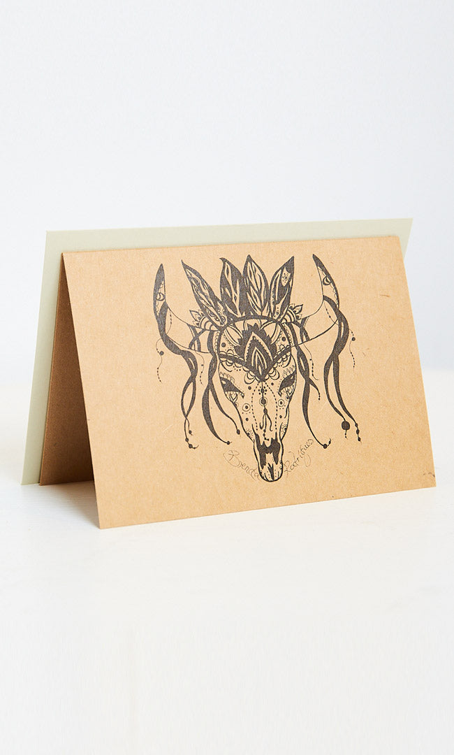 El Toro (The Bull) Greeting Card