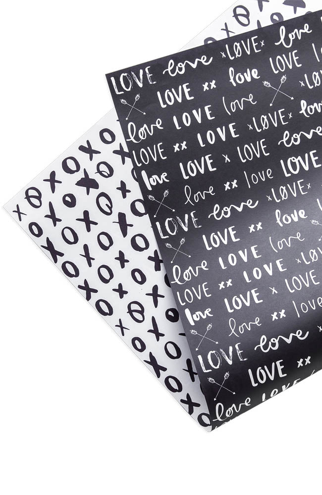 The Lovers Wrapping Paper