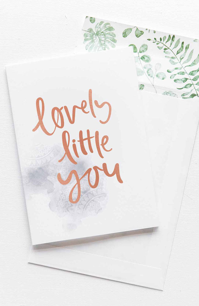 Lovely Little You Card