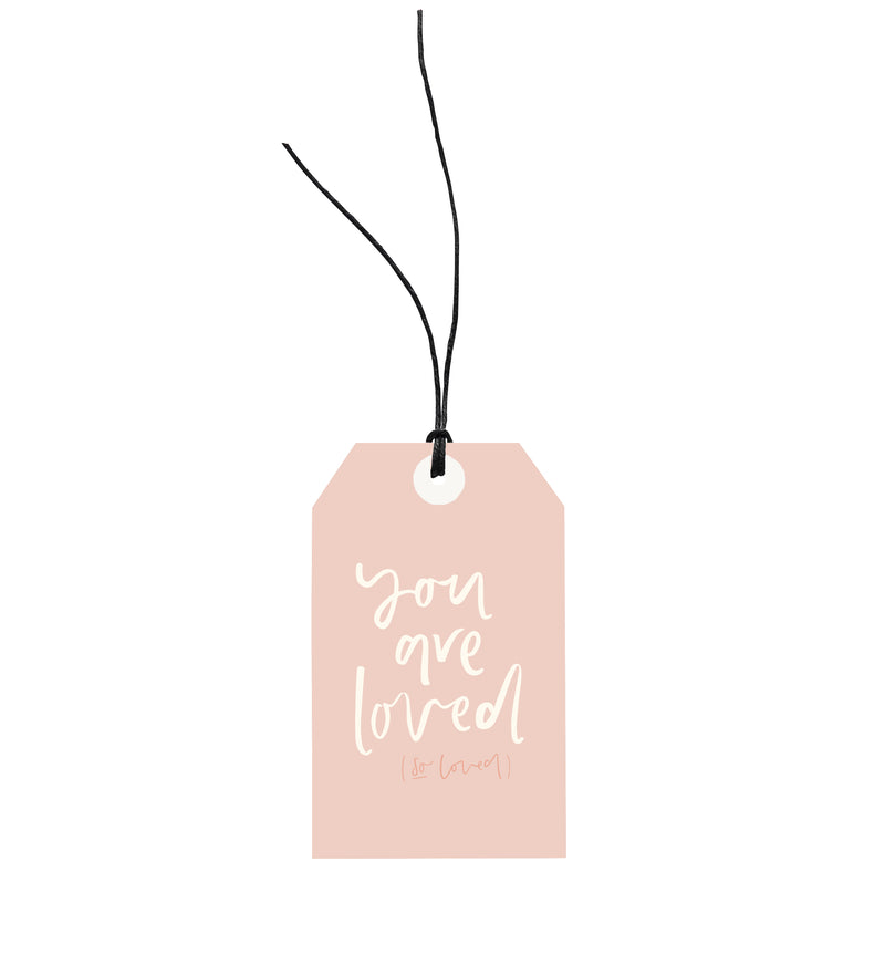 You Are Loved Gift Tag