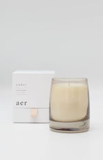 AER Glass Candle