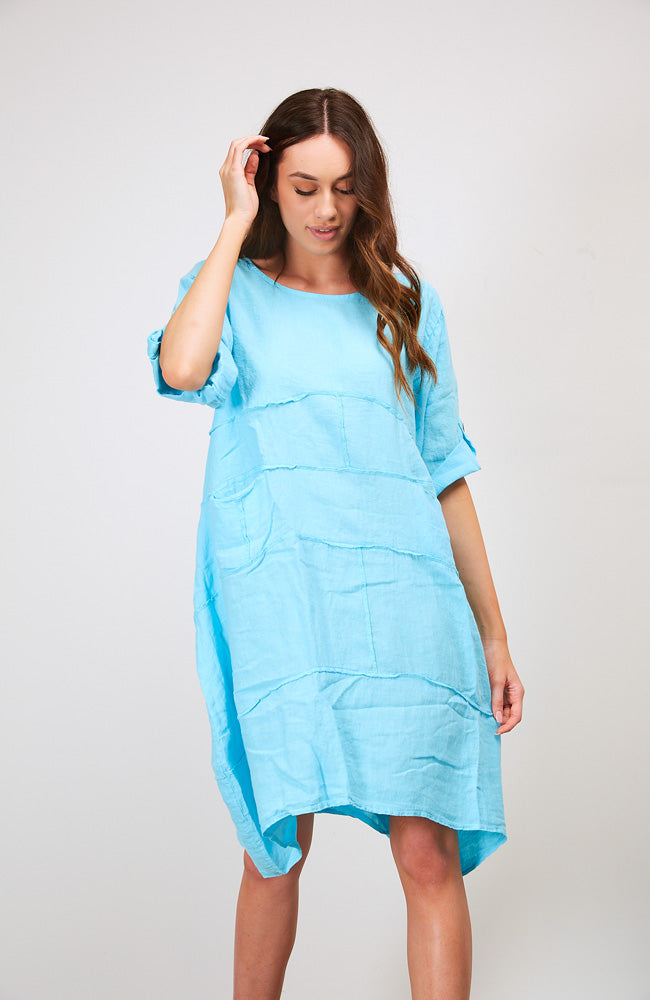 Come together dress I Aqua