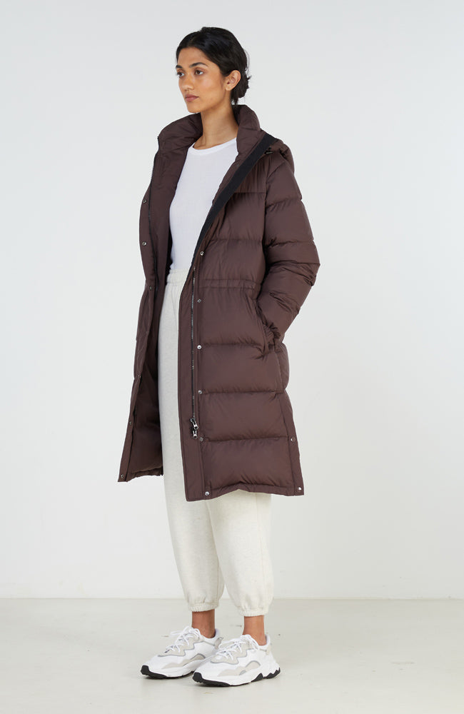 Down Jacket I Plum
