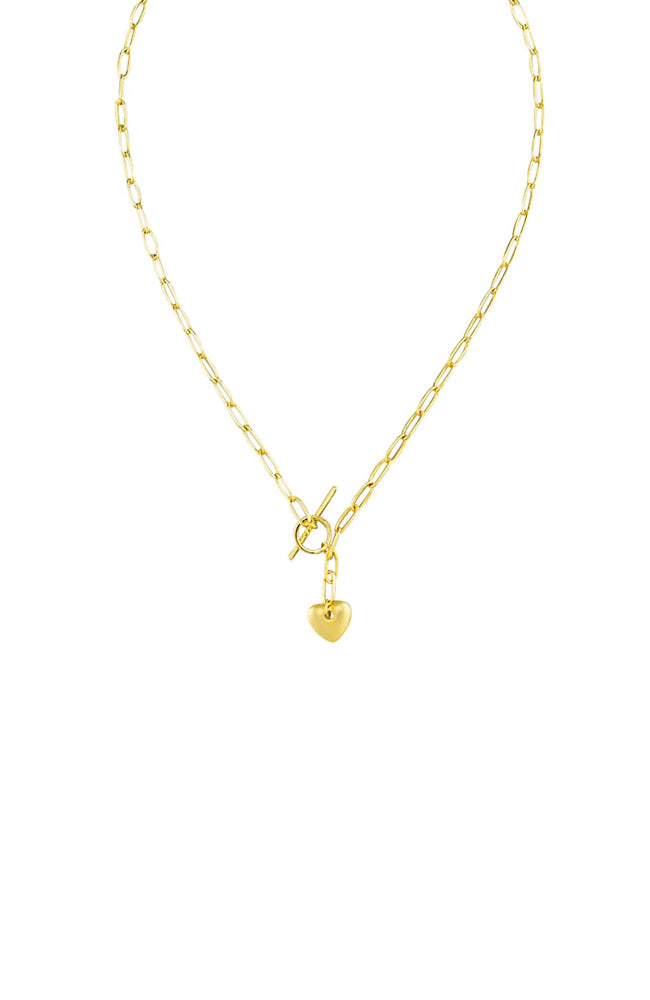 Fob Heart Necklace