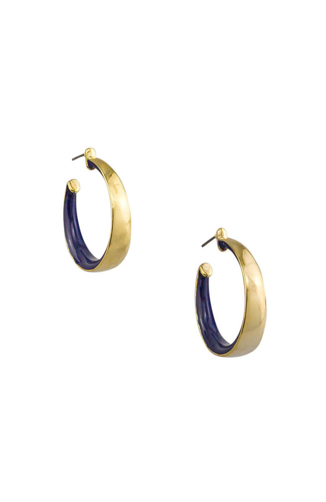 Double Delight Hoop Earring