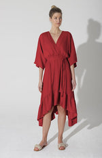 Worship Dress - Red