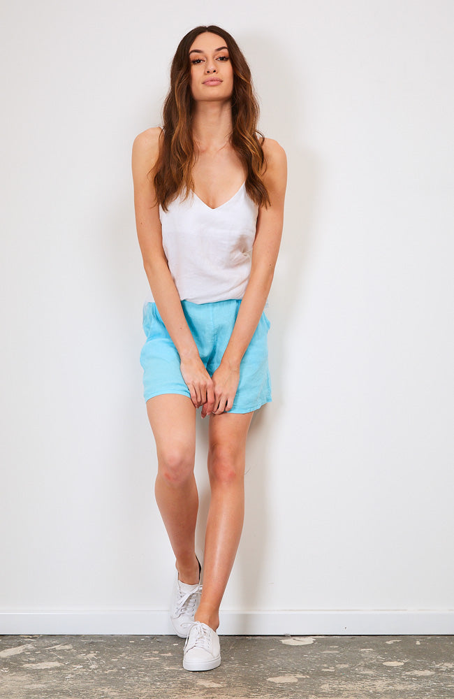 Hello Summer Short I Aqua