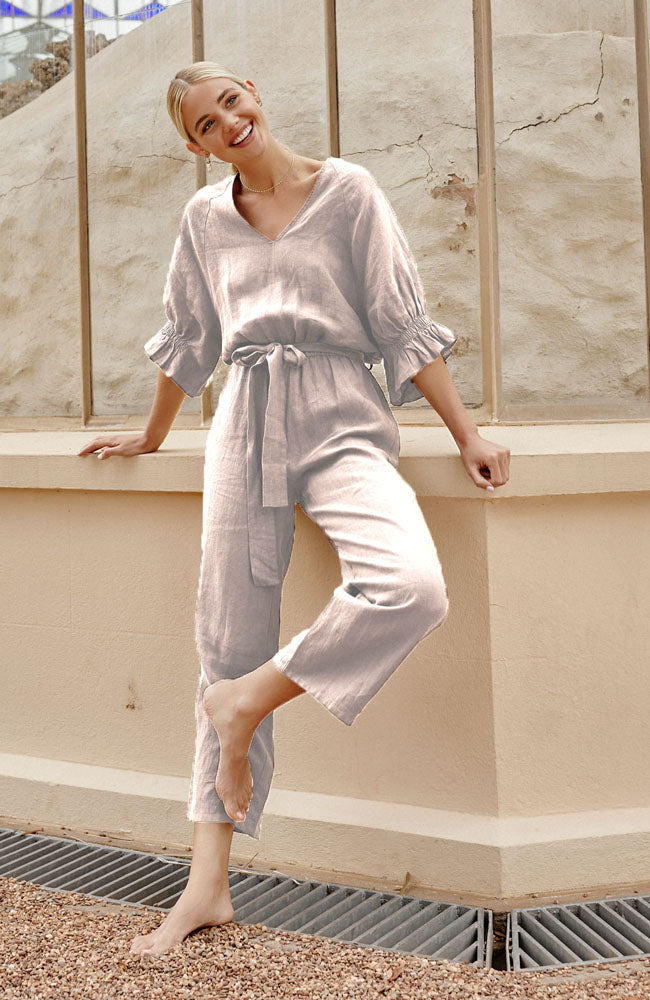 Ivy Jumpsuit - Bone