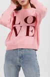 Love In The Air Knit I Pink