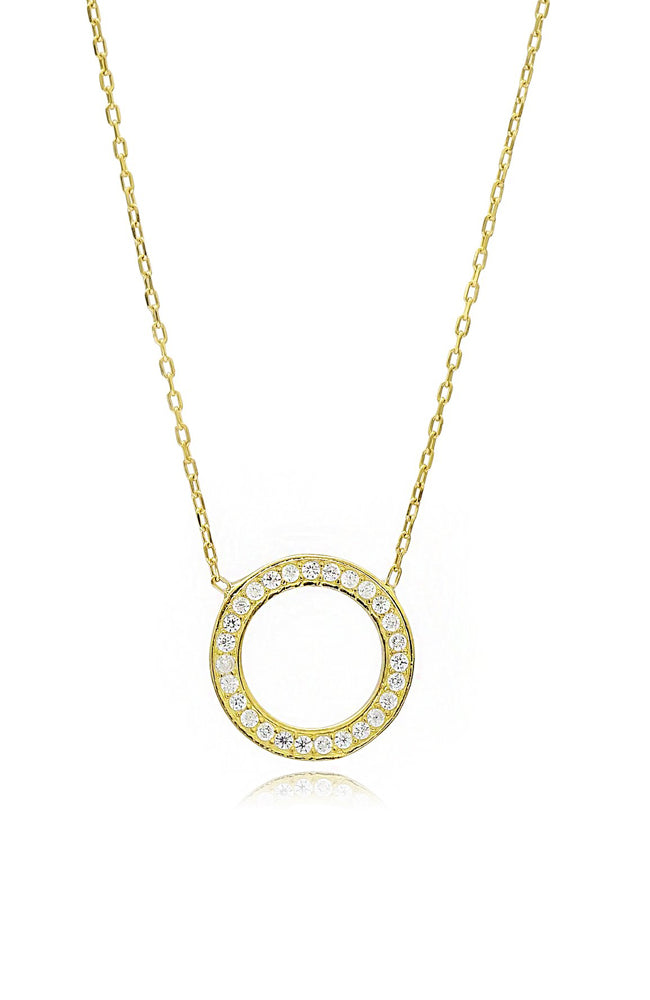 Meridian Necklace I Gold