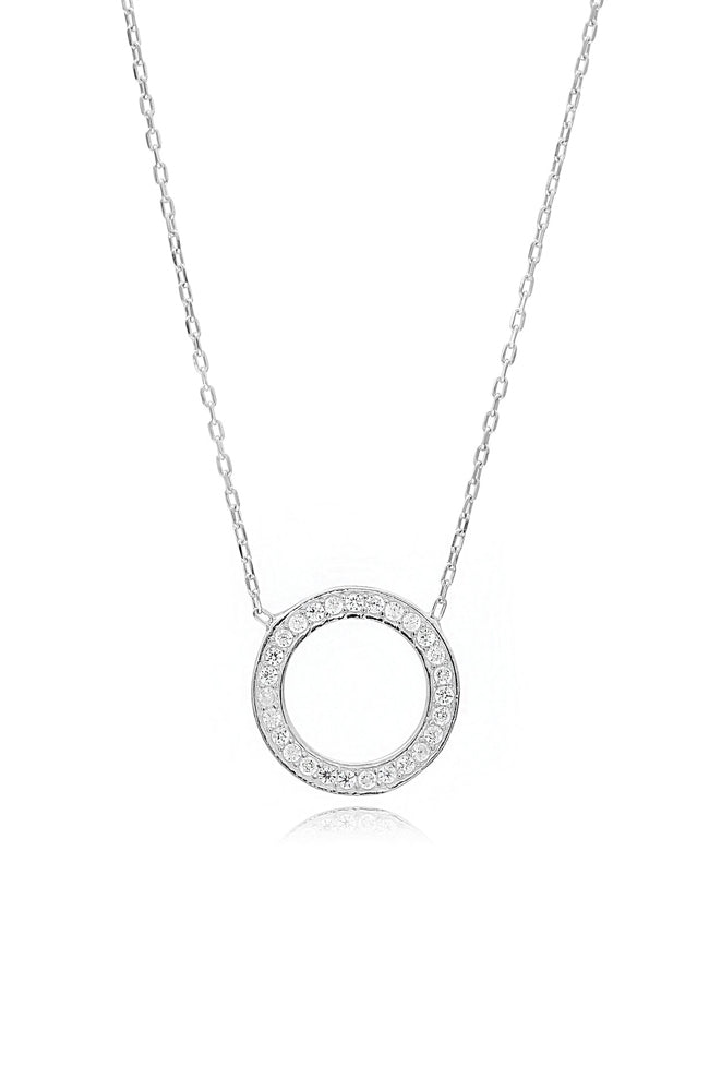 Meridian Necklace I Silver