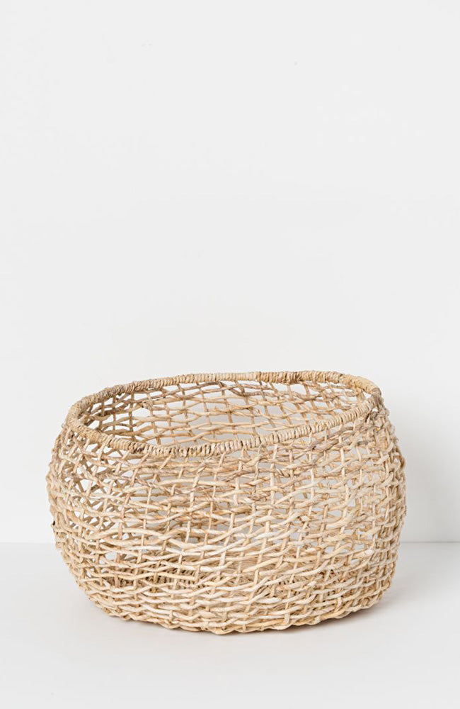 Cicely Round Woven Basket - Large