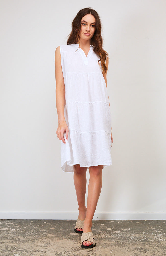 Reawaken Dress I White