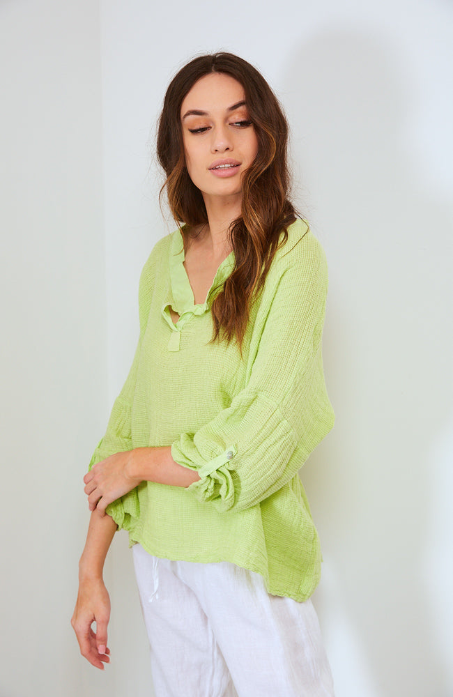 Revitalize Top I Lime