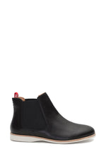 Chelsea Pin Punch Boot - Black
