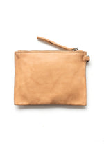 Small Pouch Clutch - Natural
