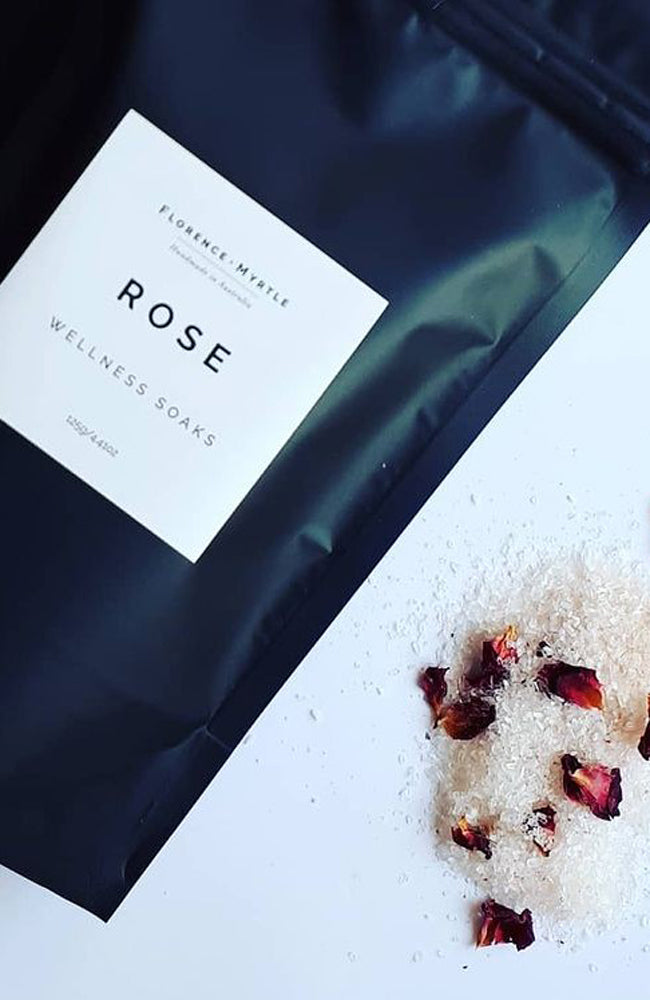 Bath Soak Wellness I Rose