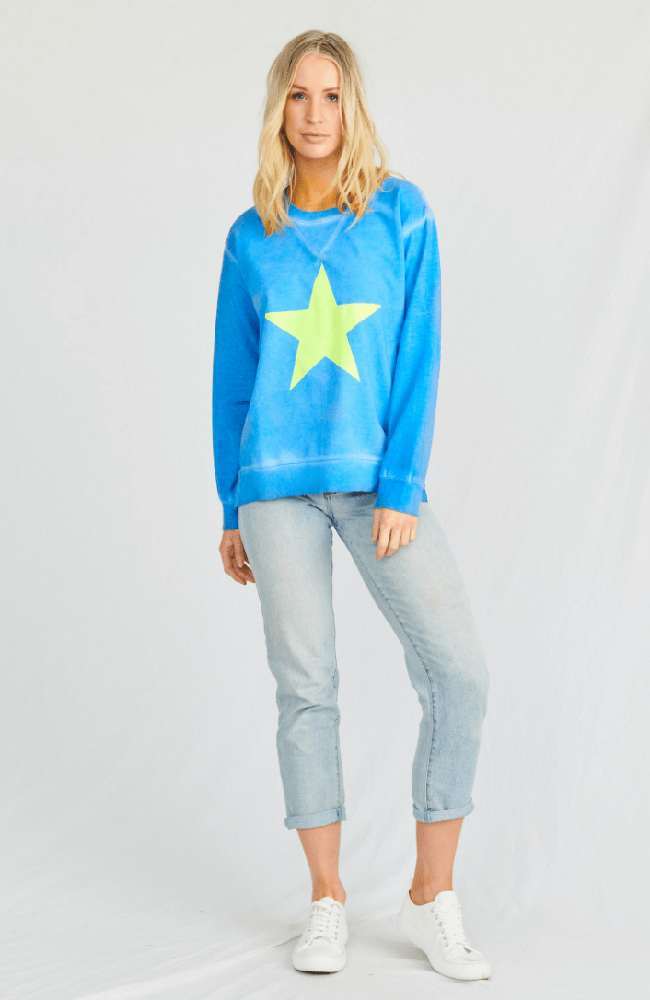 Space Age Sweat - Summer Blue
