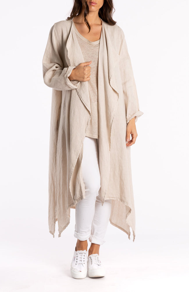 Waterfall Linen Jacket